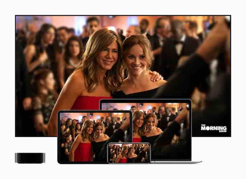 AppleTV+ avec The Morning Show