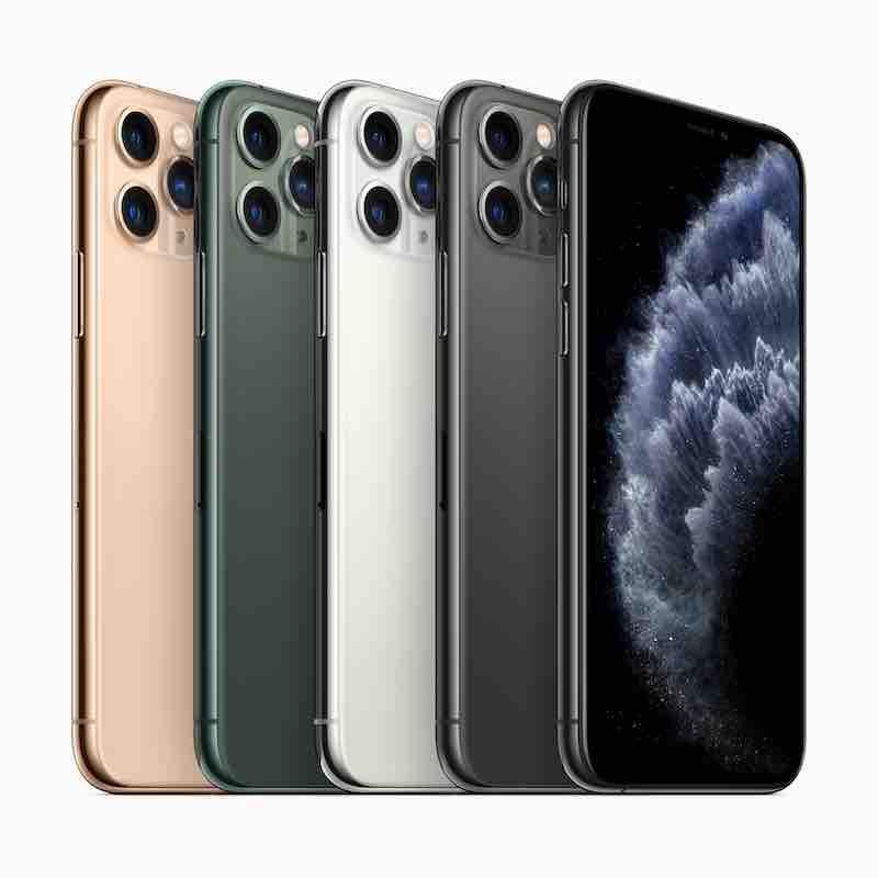 la famille iPhone 11 Pro