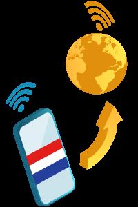 internet à l'étranger